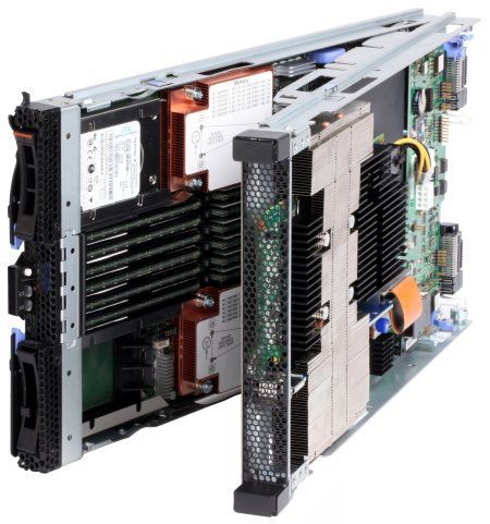 IBM BladeCenter GPU Expansion Blade with HS22