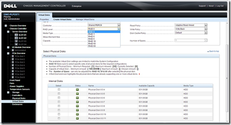 PowerEdge VRTX - Shared_Storage_Screenshot